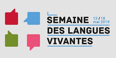 Semaine des langues 2019