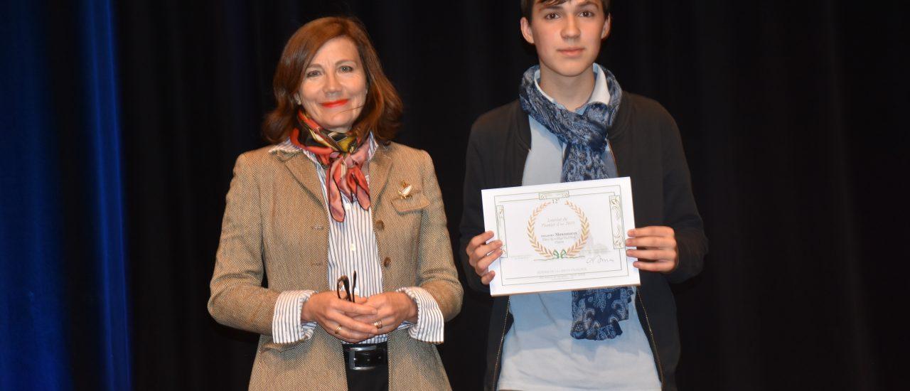 Classe de 4ème : Concours « Le Plumier d'or » organisé par « La Défense de la langue française »