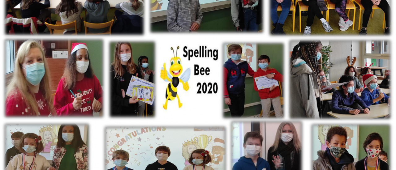 Un concours d'orthographe : Spelling bee contest !