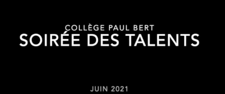 Soirée des talents – 2021